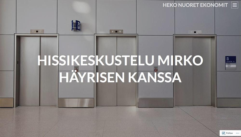 Helsingin Ekonomit – Mirko Häyrinen